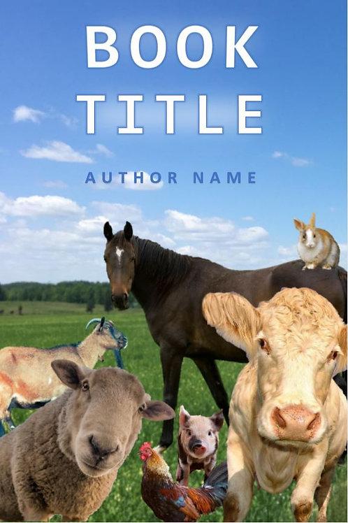E-Book Cover - Farm animals