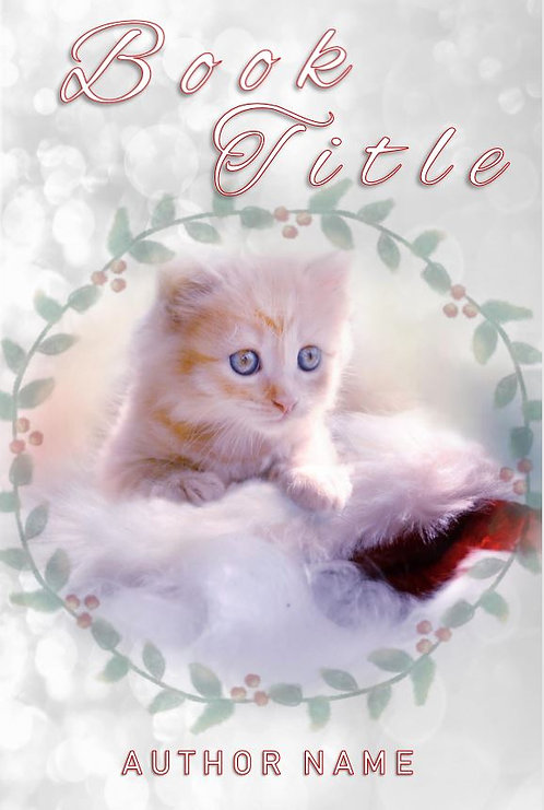 E-Book Cover - Christmas kitten
