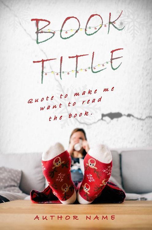 E-Book Cover - Christmas socks
