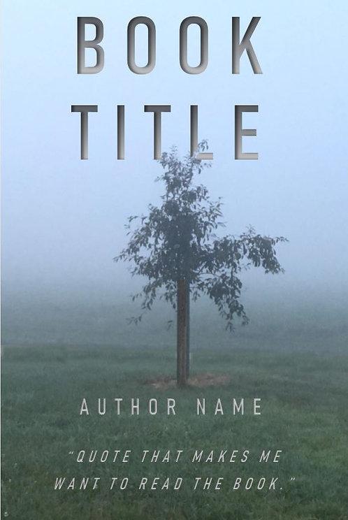 E-Book Cover - Tree in mist