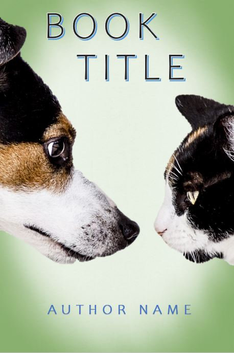 E-Book Cover - Dog vs cat