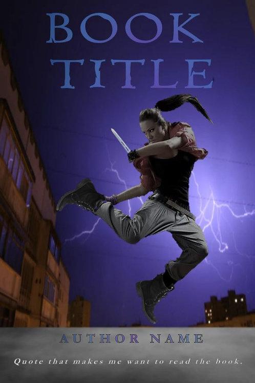 E-Book Cover - Woman Fighter
