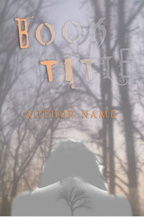 E-Book Cover - Woman in the woods