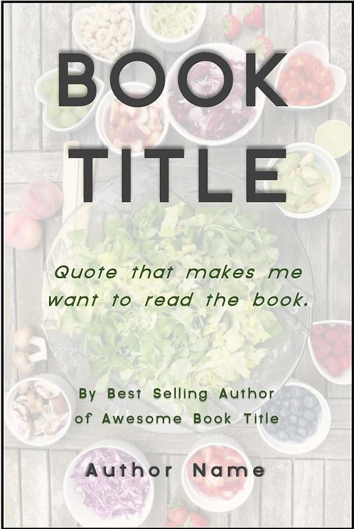 E-Book Cover - Food