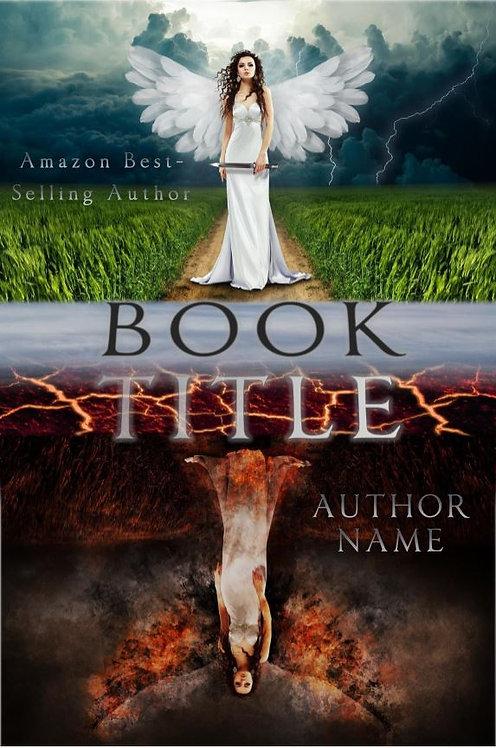 E-Book Cover - Angel vs demon
