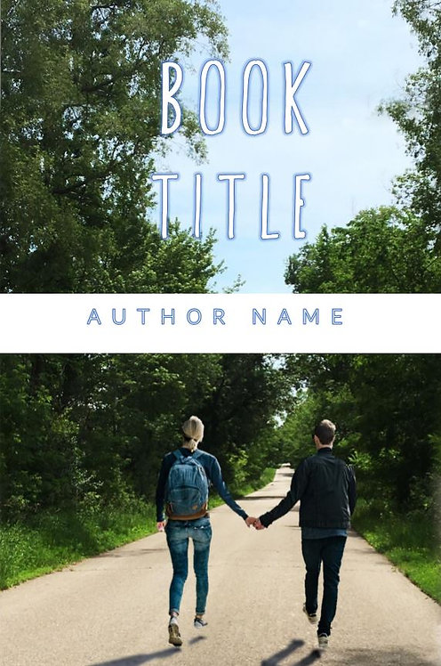 E-Book Cover - Couple on road