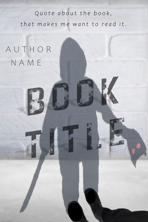 E-Book Cover - Shadow with mask and sword