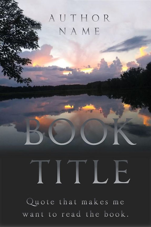 E-Book Cover - Pond reflection