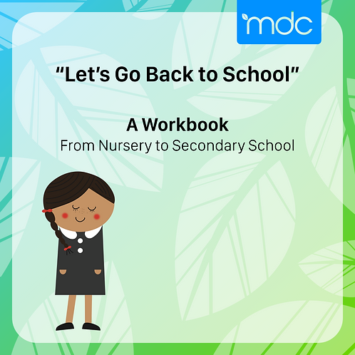 Early Years Transition to School Workbook