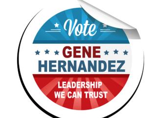 HERNANDEZ BUILDS COMMUNITY SUPPORT