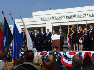 Grand Re-Opening of the Nixon Library!