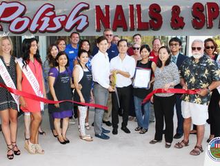 Polish Nails & Spa Grand Opening