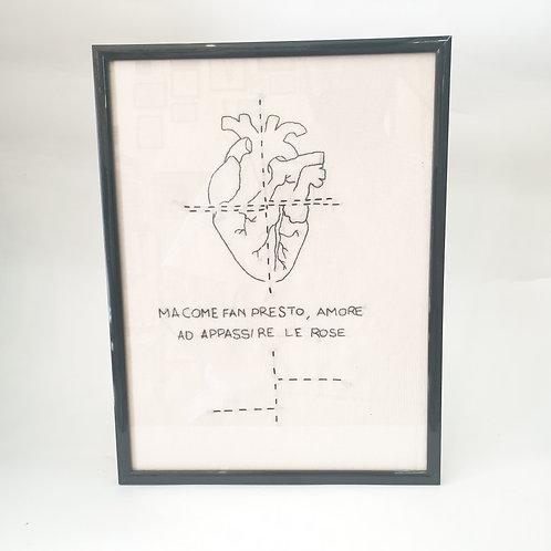 QUADRO HEART DE ANDRÉ