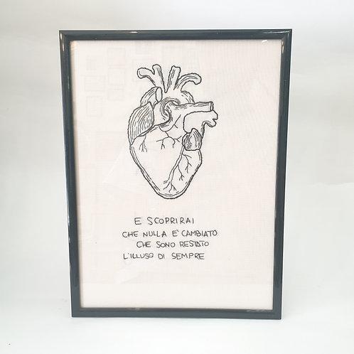 QUADRO HEART BATTIATO