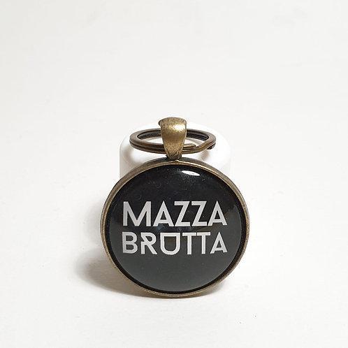 PORTACHIAVI MAZZA BRUTTA BIANCO E NERO