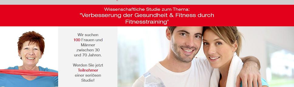"""Wissenschaftliche Studie zum Thema: """"Effektive Figurverbesserung durch Fitnesstraining"""""""
