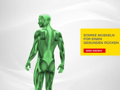 Starke Muskeln für einen gesunden Rücken