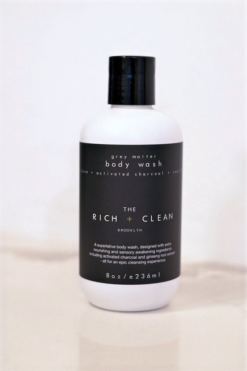 grey matter body wash
