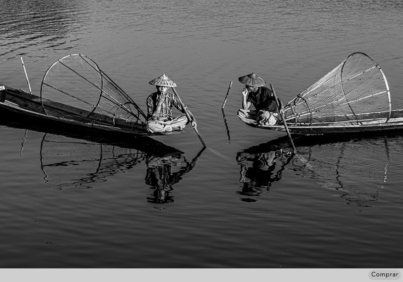 FINE ART PB #051.   Inle Lake. Myanmar