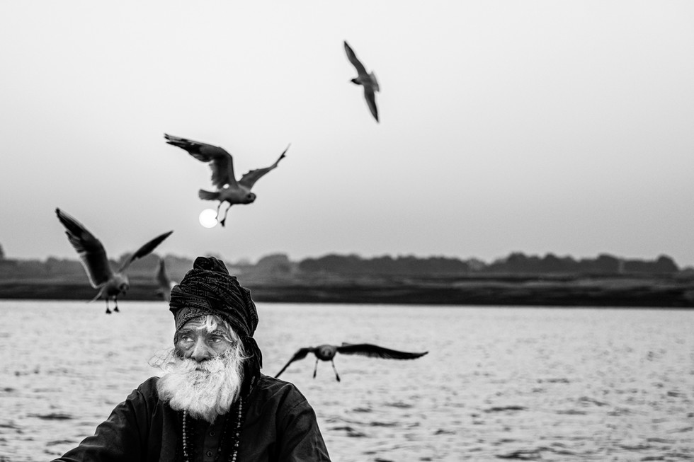 Fine Art PB #042. Ganga River. India