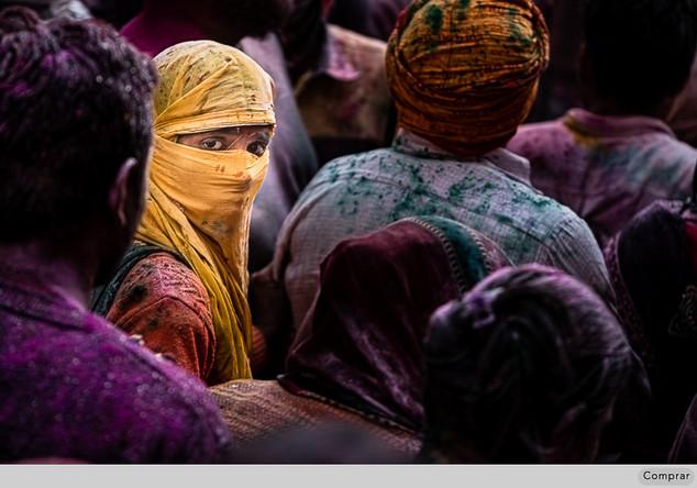 Fine Art Cor #033.   Holi. India
