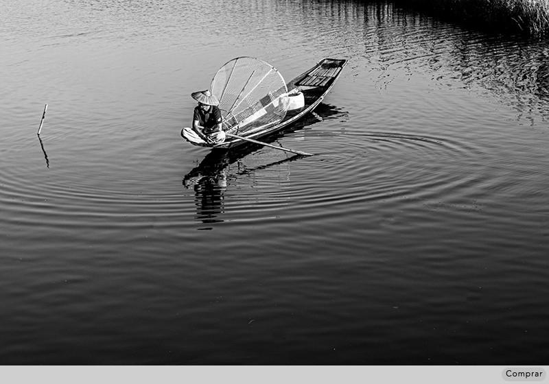 FINE ART PB #052.   Inle Lake. Myanmar