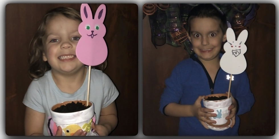 Easter pot make and take