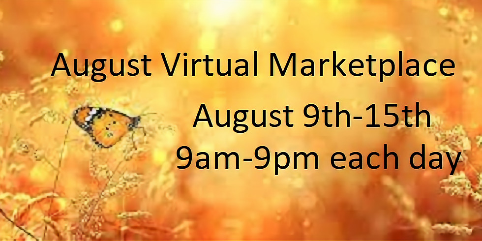 August Virtual Marketplace