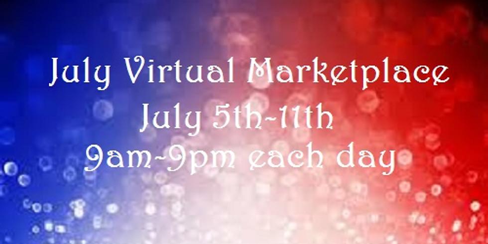 July Virtual Marketplace