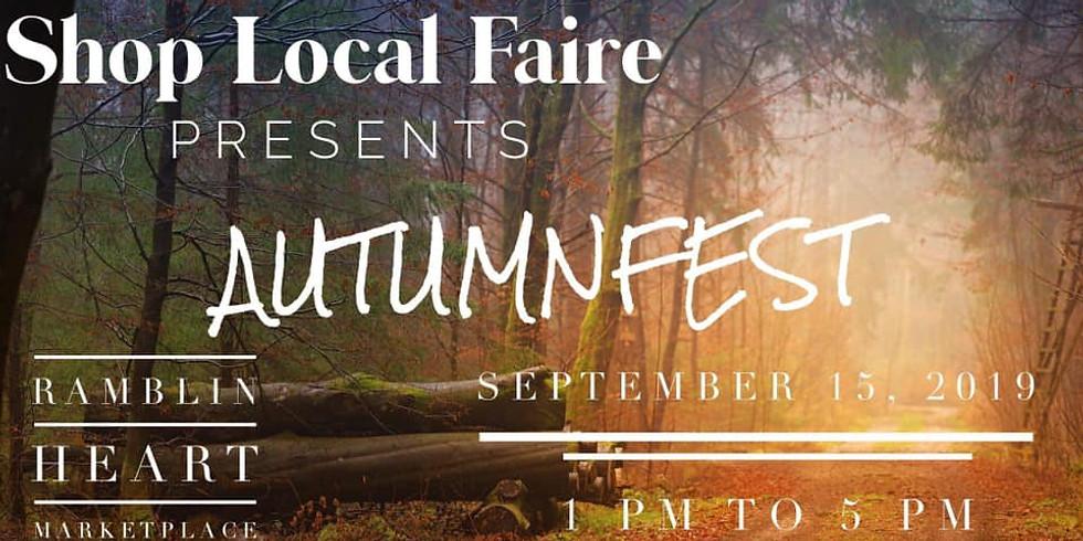 Shop Local Faire Autumn Fest