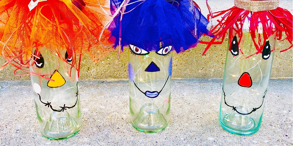 Bottle up your inner scarecrow