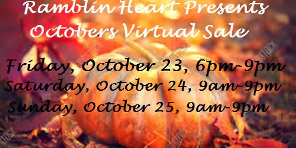 October Virtual Pop-up