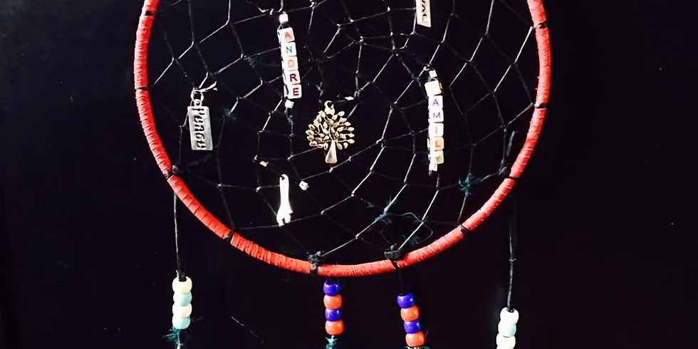 Learn the art of making a Dreamcatcher