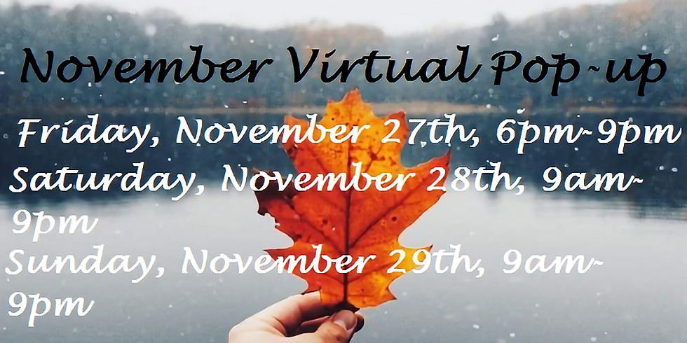 Ramblin Heart presents November Virtual Popup