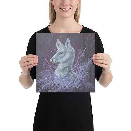 Silver Hind Canvas