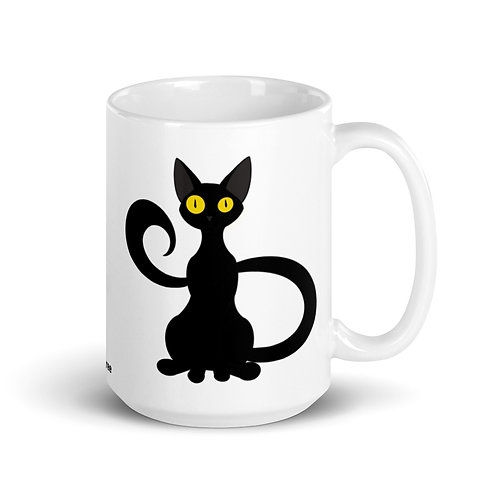 Lucky void cat mug