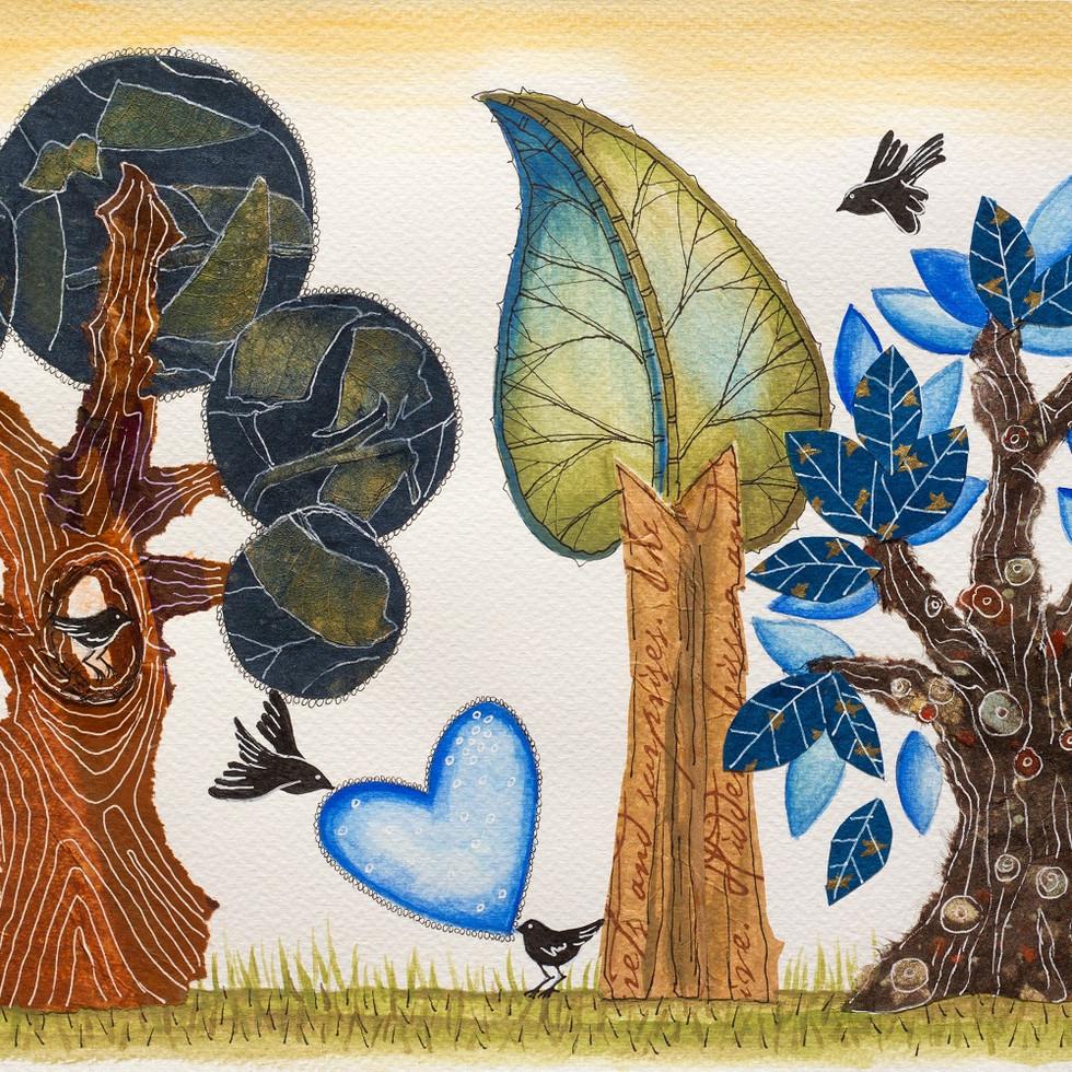 BIrds in Love/ Pájaros enamorados