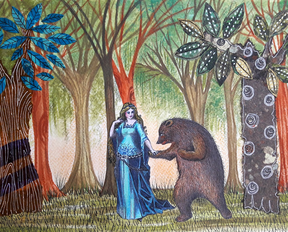 The Lady and the Bear