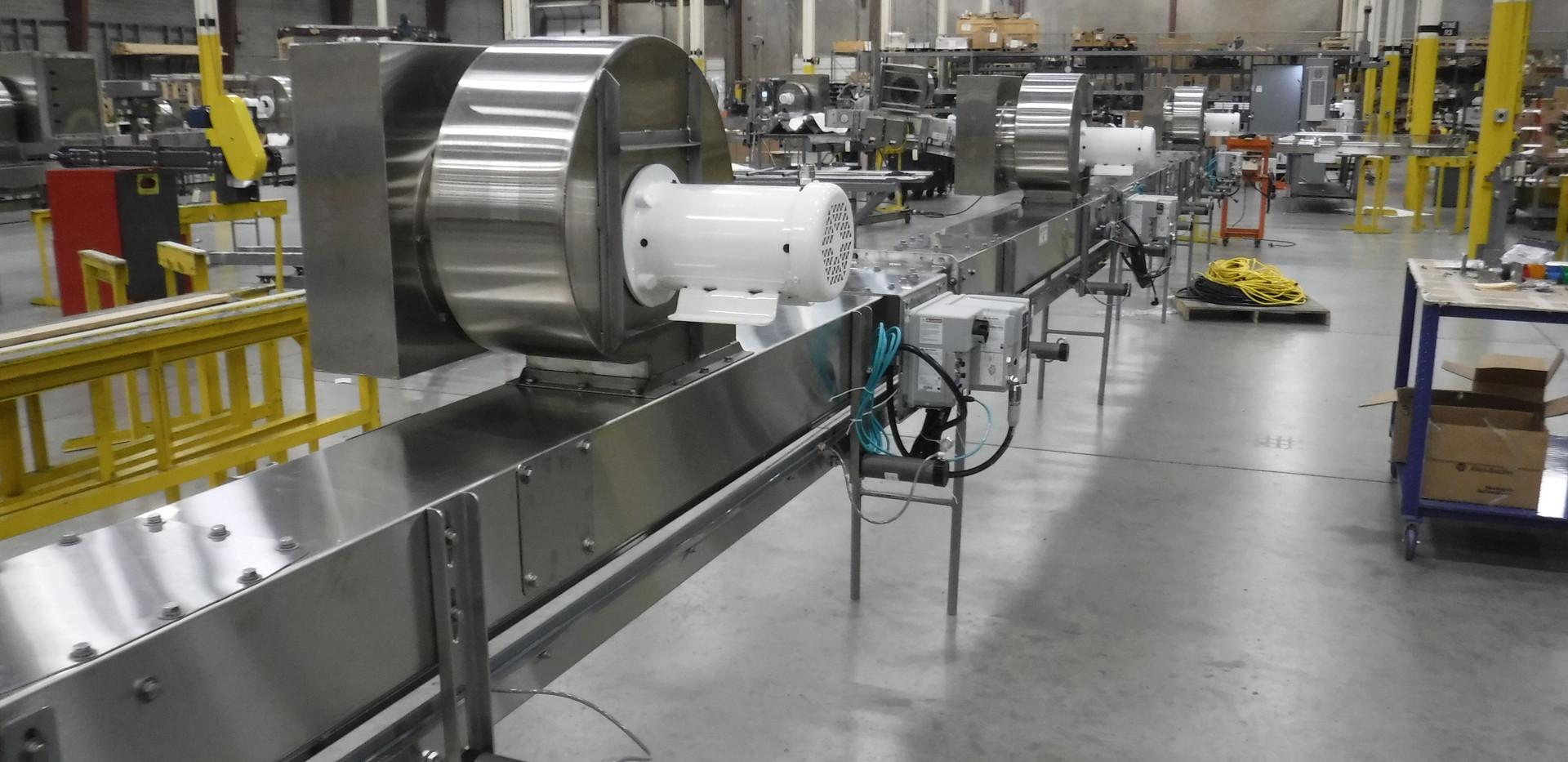 Neck Guided Air Conveyor