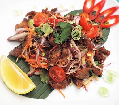 Roasted Duck Salad