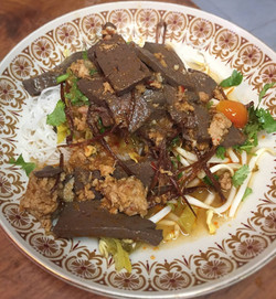 Northern Thai style noodle