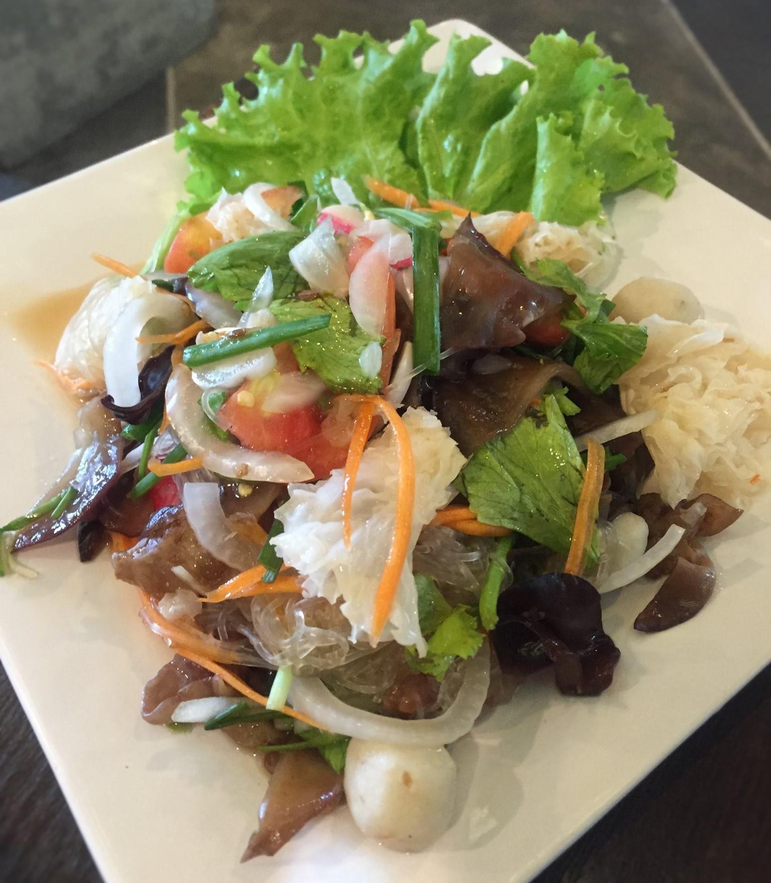 Yam Taley (Seafood Salad)