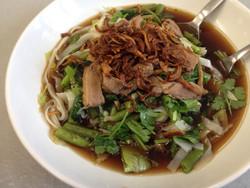 Roasted duck Noodle soup