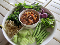 Nam Prik (Dipping chilli sauce)