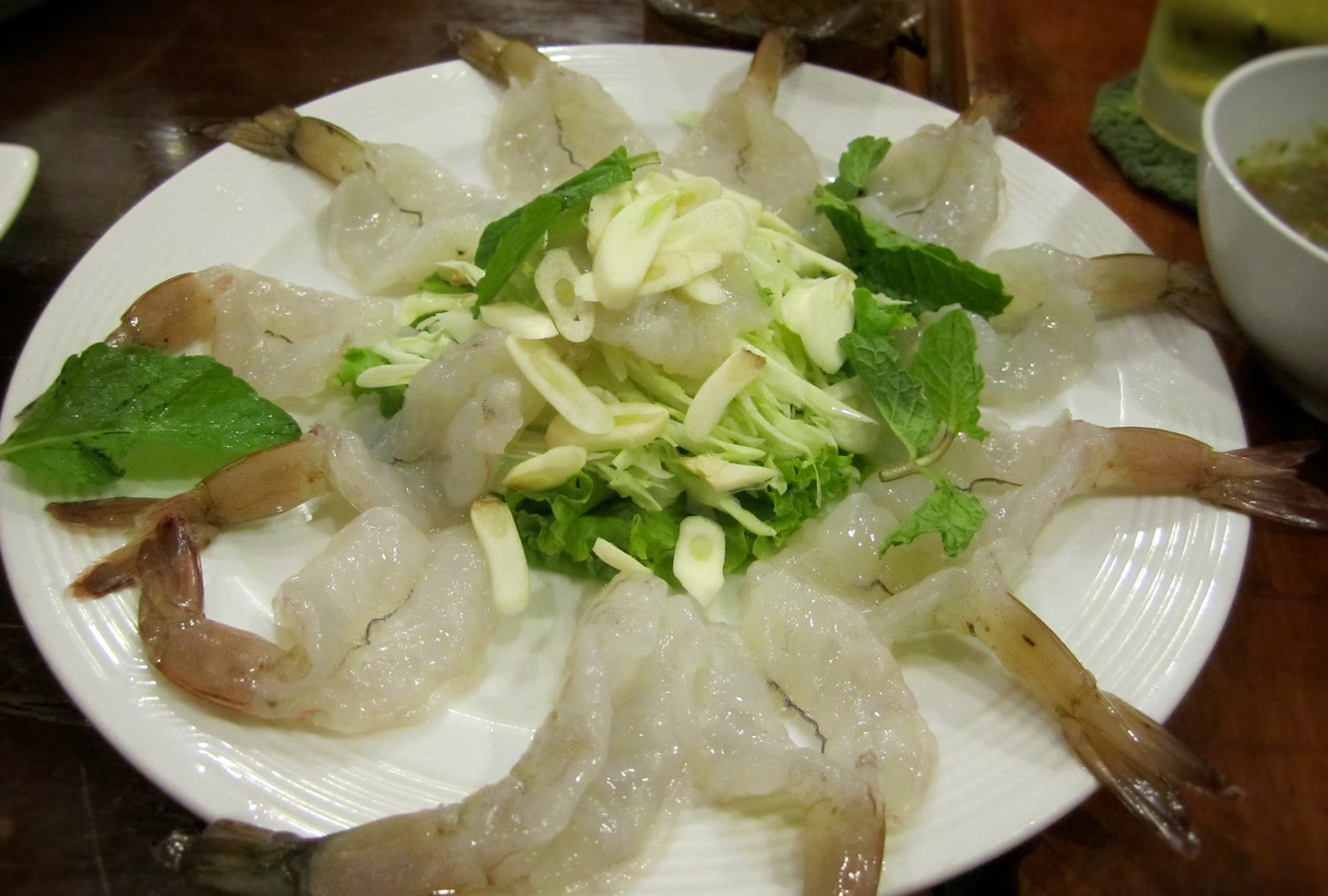 Raw Shrimp Marinated in Fish Sauce