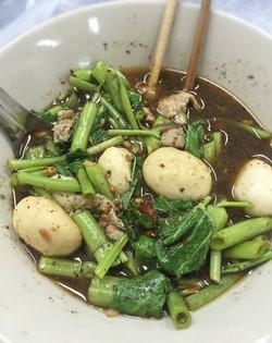 Meat Balls Noodle soup