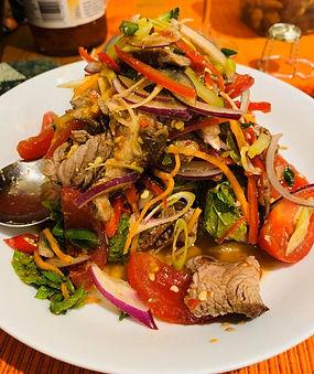 Beef salad