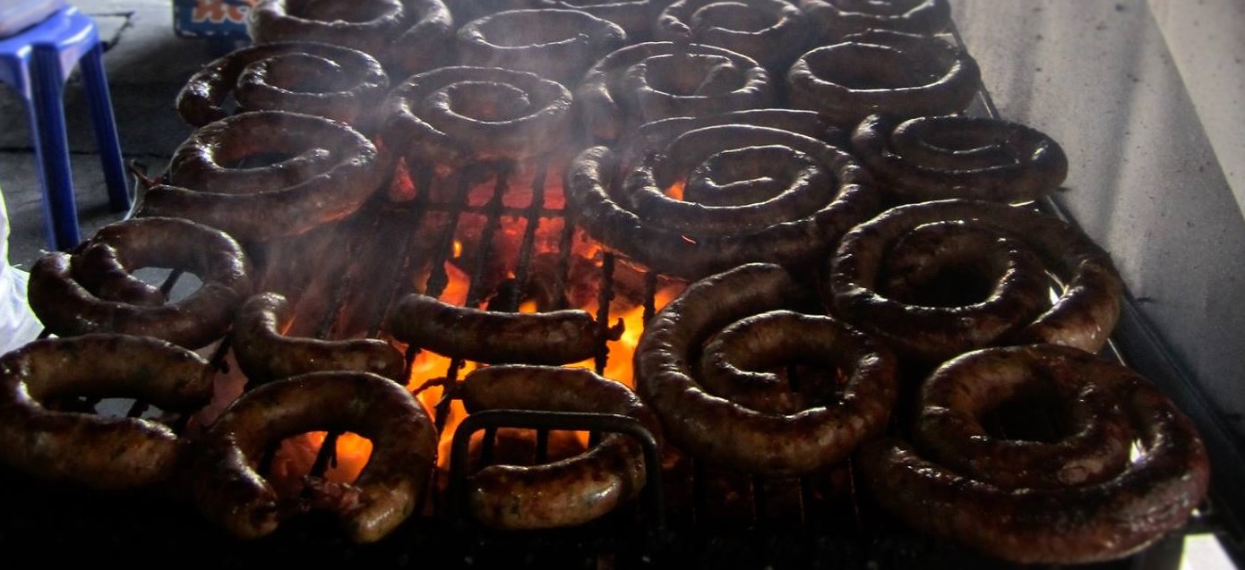 Grilled Chiang Mai Sausages