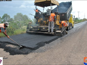 ERS-528 recebe primeiros metros de asfalto