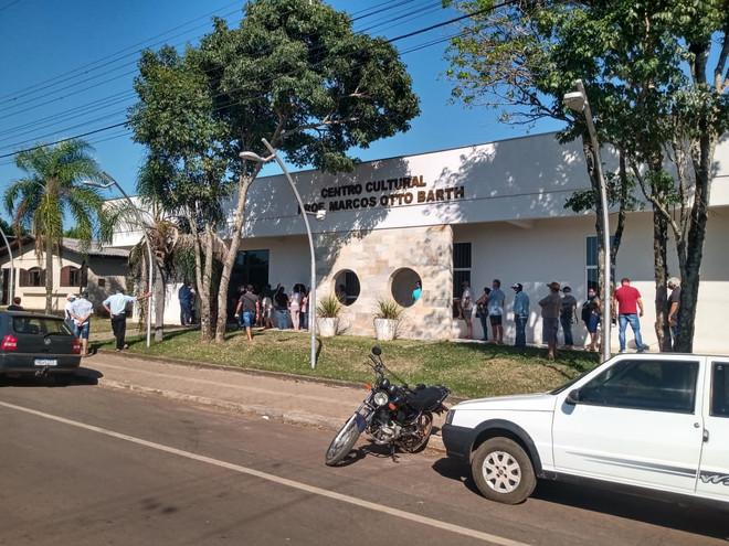 Palmitinho: Município inicia imunização na população a partir de 50 anos